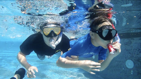 看特殊儿童如何玩转潜水摇滚和版画?【在这孤独的世界- 有你】