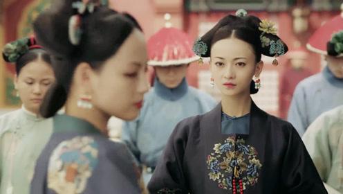 延禧攻略:璎珞晋升成皇贵妃,一剑刺死纯妃,却被顺嫔设计陷害