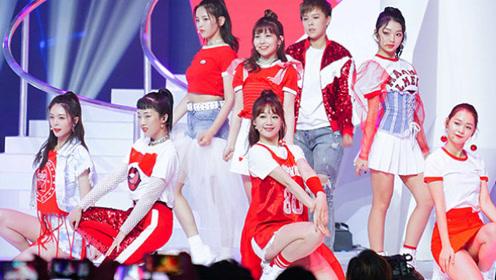 火箭少女101成团首秀新曲《撞》杨超越C位 Sunnee因病晕倒
