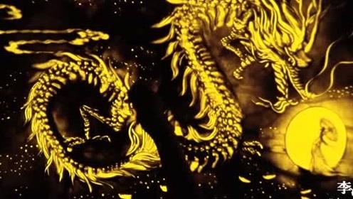 沙画:《他是龙》——原创首发