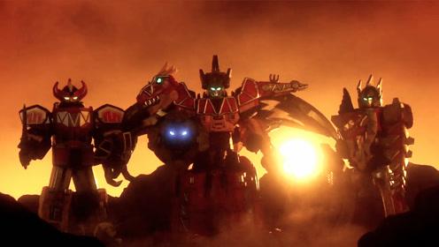 兽电战队强龙者赢得了最后的胜利,与前辈超级战队告别