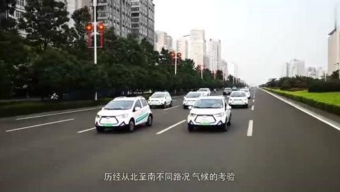 江淮iEV6E运动版万里公测抵达上海,新能源汽车实力展现!