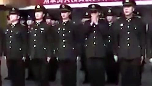 中国三军仪仗队女兵训练时的风采,她们是军队的形象,英姿飒爽