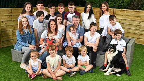 """英国""""超级妈妈"""":43岁生第21个孩子 已有4个孙辈"""