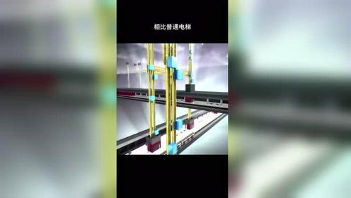 德国人城会玩,推出新型电梯横竖都能走