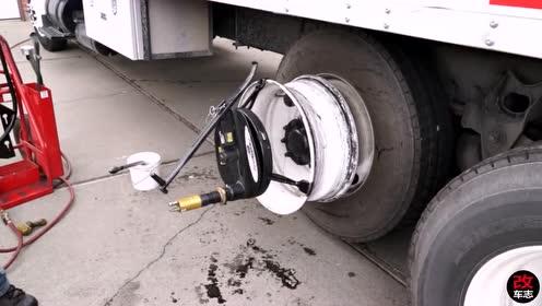 三分钟快速更换轮胎!