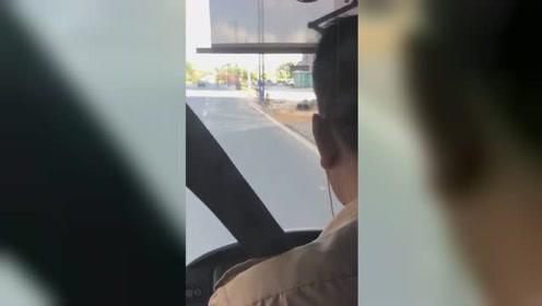 永不录用!广东边开车边看剧的公交司机被辞退