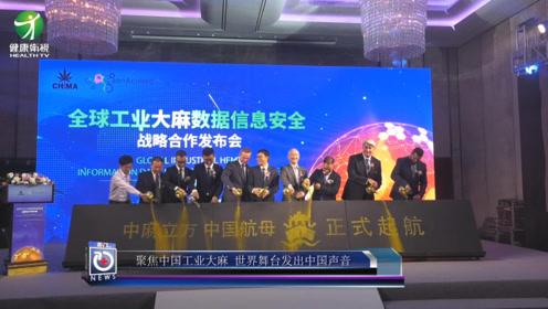 《医讯》聚焦中国工业大麻,世界舞台发出中国声音