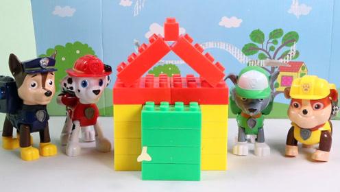 汪汪队玩具神奇小房子巧变棒棒糖,快乐玩不停