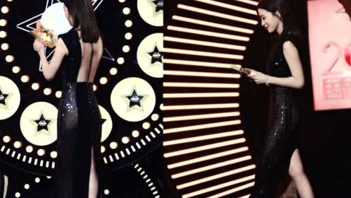 佘诗曼身姿妙曼走红毯  穿叉裙超惊艳当看到背影我沉默了