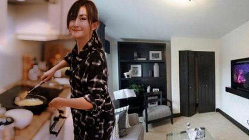 带你参观谢娜住的豪宅 装修很普通完全不像是明星住的