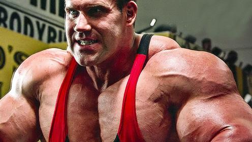 健美界的肌肉帅哥,获得4次健美先生,如今肌肉依然强悍