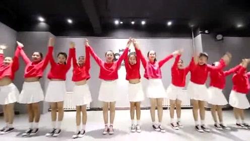 女生专属圣诞节舞蹈,幼儿园元旦欢快好学的舞蹈