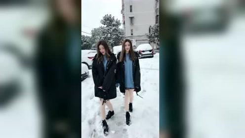 下雪的冬天真美