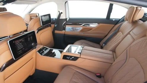 2020 宝马BMW 7 SERIES,坐进后排一刻,还要啥奥迪A8?
