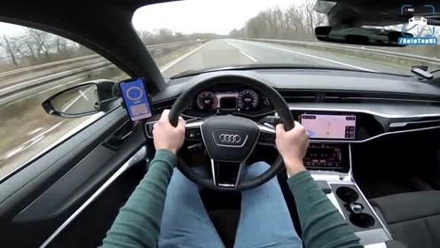 2019款奥迪a6静音效果怎么样,上了德国高速就明白了