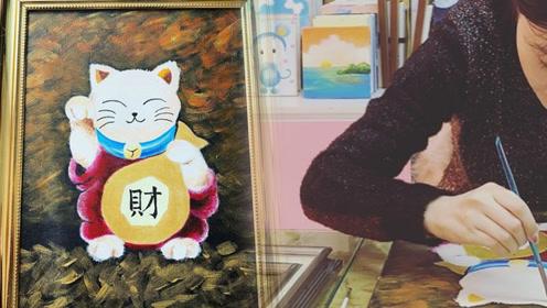 李小璐罕见分享近照 亲自画招财猫秀画功心情不错