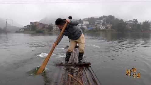 大河流下网捕鱼,老话说得好,希望越大失望越大,结果还是不理想