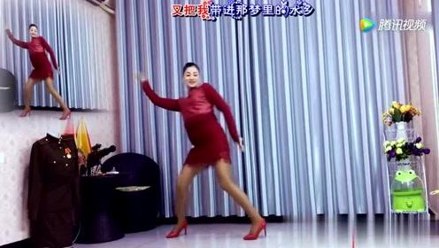 广场舞《水乡新娘》动感舞姿
