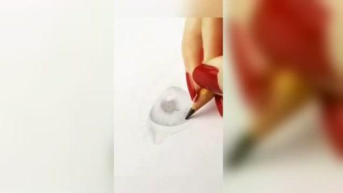 手绘作品:喜欢加关注