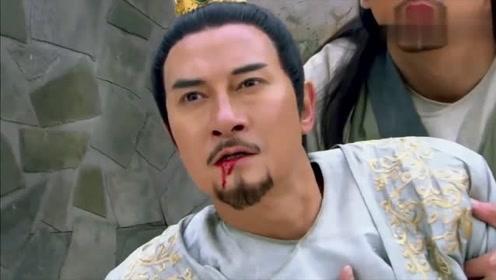 男子看见自己父亲被打伤,情急之下使出六脉神剑,把慕容复终结了!