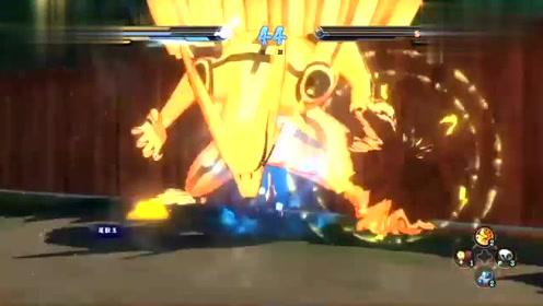 火影忍者:水门竟然卡在半空中不动,鸣人这次捡到大便宜了
