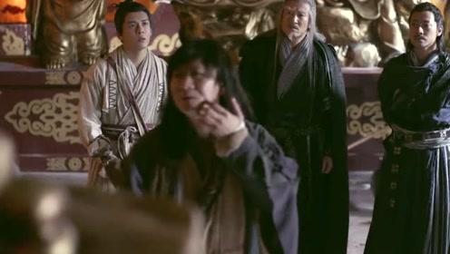 倚天屠龙记:少林遇袭,无忌念出刻字后,惊住了