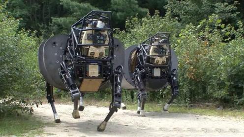 美国研发四足机器人,上山比越野车更方便,这是现实版木牛流马?