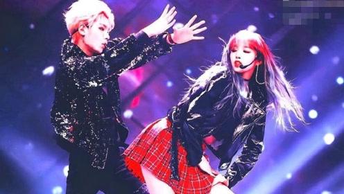 黄明昊程潇CP同台共舞,女神弯腰的一瞬间,粉丝们彻底疯狂了!