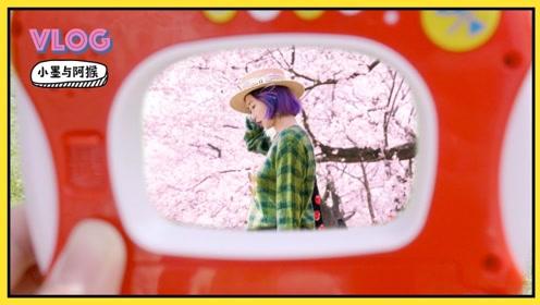VLOG:500元玩具相机也能拍出唯美樱花人像?记一场日本花见野餐会!