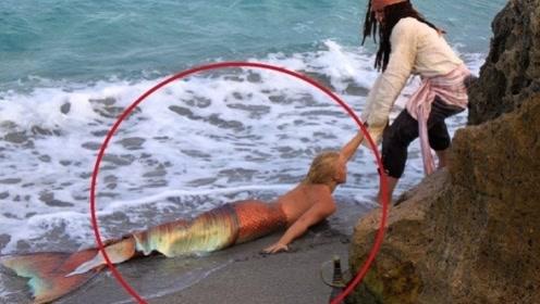 """男子海滩发现""""美人鱼"""",吸引众人围观驻足拍照!网友:太残忍!"""
