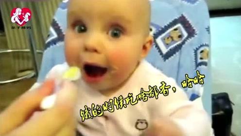 妈妈太忙忘了饭点给宝宝喂食,下一秒宝宝的反应,太可爱了