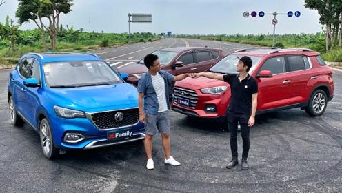 中日韩三款热门SUV大PK,谁才是今天的赢家?