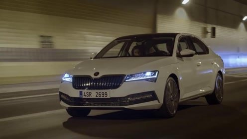2020款斯柯达速派外观内饰与动态驾驶