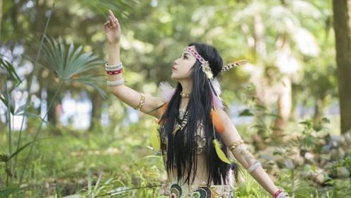 你见过这样的东方舞吗?像森林里的守护神,万物皆有灵!
