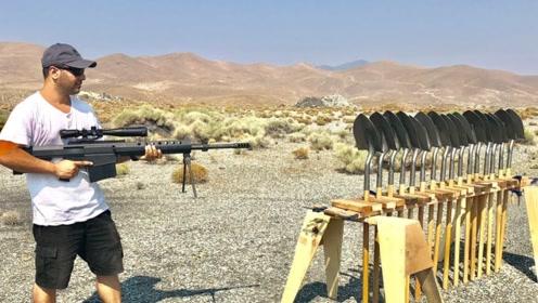 中国出口美国的铁楸能抵挡狙击枪子弹吗?牛人亲测,结果不敢相信