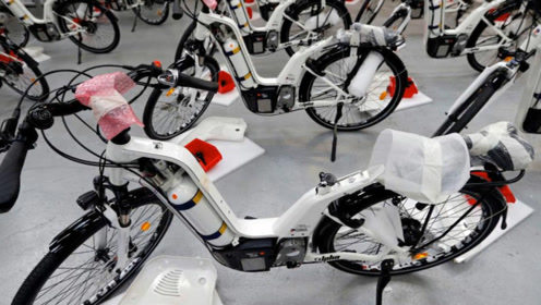 充气2分钟,续航100公里,新型自行车问世,将取代电动车?