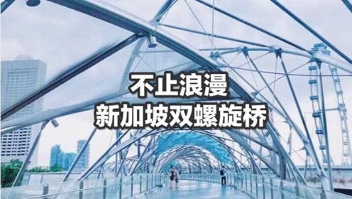 新加坡这座桥人人都要打卡?转了一圈,不仅仅是浪漫