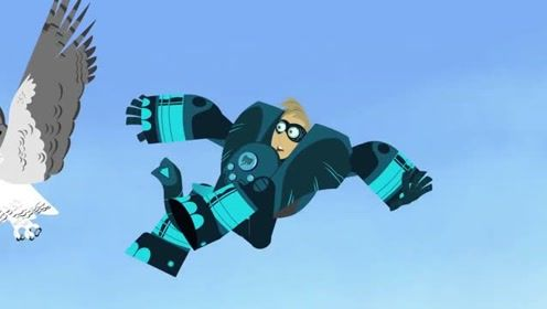 qq怎么弄指定红包兄弟:拥有了超能力的马丁和克里斯,开心的切磋较量着