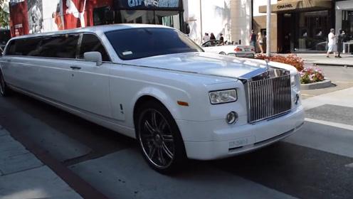 花2000万买9米长的劳斯莱斯来做婚车