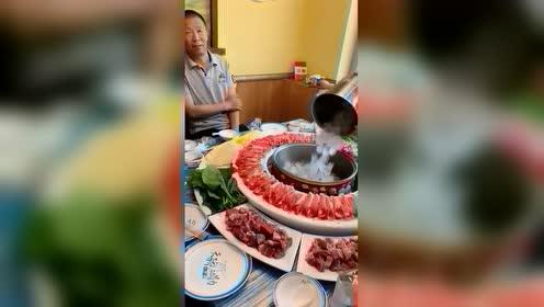 冰上煮牛肉,非常美味