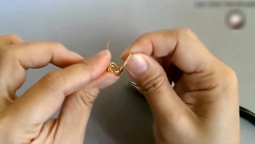 简单易学的双心戒指,简单朴素中带有时尚