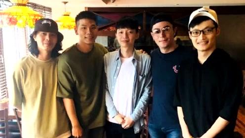 网友偶遇霍建华餐厅吃饭,身边未见林心如和女儿