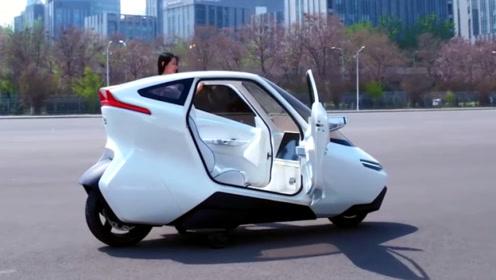 自动驾驶摩托:内部装饰豪华,时速可达100千米!