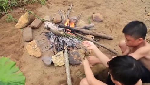 手工捕鱼,原始的烹饪鱼食谱