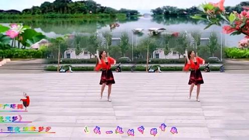 梦乡广场舞《蓝色天梦》表演个人版