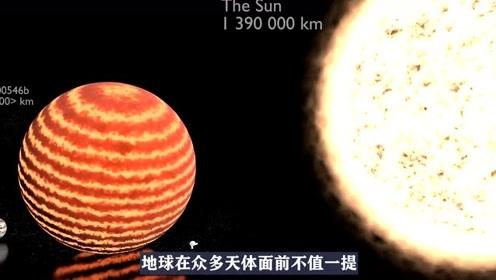 宇宙天体大小的对比,地球小到看不到,会不会有多个宇宙存在呢?