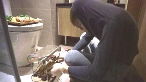 老公竟在厕所里偷吃龙虾?老婆闻到味后傻眼!