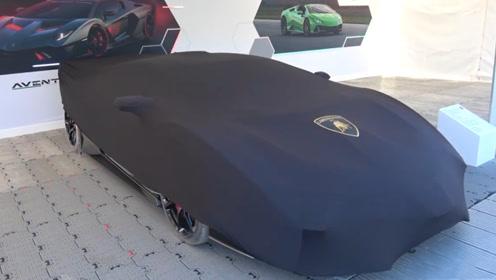 全球1辆的兰博基尼到了,遮车布掀开一看,难怪敢卖6千万!