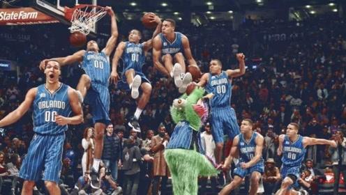 扣篮盛宴!盘点NBA30支球队每队扣篮大赛最佳扣篮